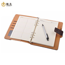 Good after-sales servicer gold edge fabric notebook