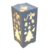 warm white christmas lantern lights with deers and trees for table
