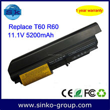 6 Cell 10.8V Laptop Battery for IBM Lenovo Thinkpad T60 T61 R60 R61 Series