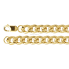 11mm Stainless Steel Cuban Chain Link Necklace Men Gold Cuban Link Chain