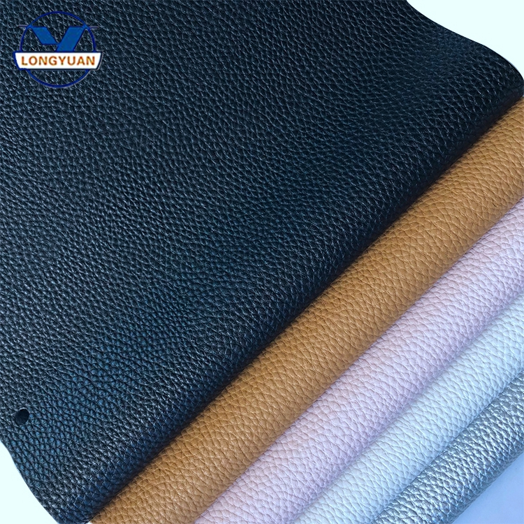 fully stock multicolored 100% pu synthetic leather for shoes bags/ shoe sole leather material/ shoes leather