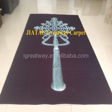 Various Styles Needle Punched Exhibition custom carpet