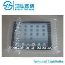 plastic column airbag packaging for iPad/air pouch packaging/air cushion bag