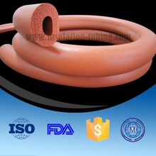 Competitve Price Closed Cell Rohs Standard Silicone Foam Rubber Tubing Suppliers China Factory