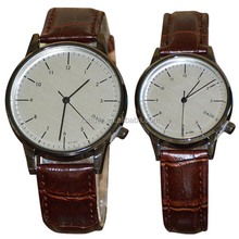 Latest designs lady watches casual wrist watch couple watch