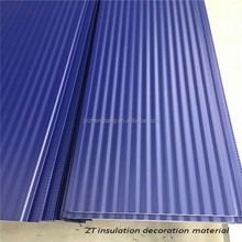 factory decoration insulated corrugated sandwich panel
