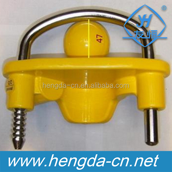 YH9006 heavy duty universal coupler hitch trailer lock for trailer parts