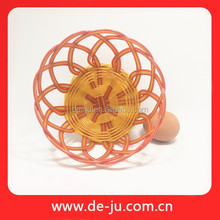 Round Waterproof Poly Removable Willow Rattan Baskets Large