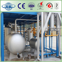 High Efficiency Waste Tires To Crude Oil Machine