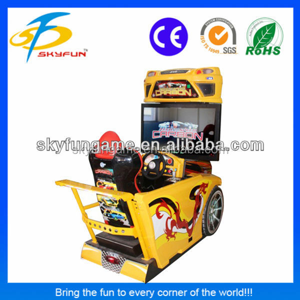guangzhou amusement zoon 42 inch need for speed game car racing