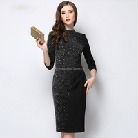 Wholesale fashion porm plus size evening dress new fashion lady dress