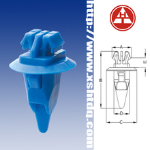 Wheel Flare Moulding Clip with Sealer