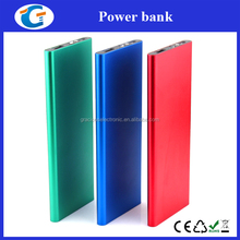 Aluminum Alloy Slim Powerbank 6000mAh with LED Flashlight