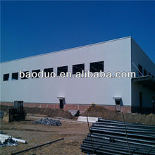 light steel structural design warehouse