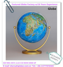Creative 8 Inches Rotating World Globe of Children Education and Desktop