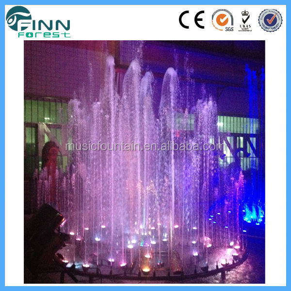 outdoor fountain multimedia fire fountain