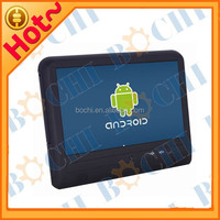 "10.1"" Android Headrest Mounting Taxi Advertising Player with Body Sensor design for all cars"