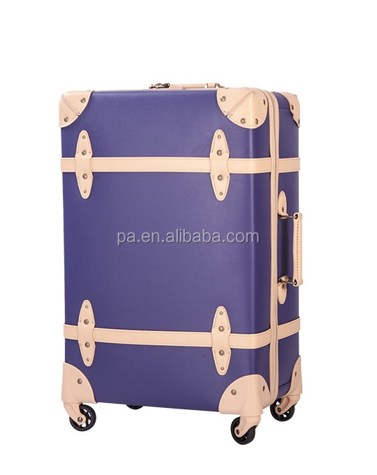 hard shell Colorful printed ABSluggage/ PU printing luggage