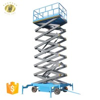 7LSJY Shandong SevenLift outdoor use electric drywall man lift