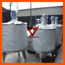 400L 105gallon Beverage Blending Tank for Juice, Electric Heating Stainless Steel Agitator Mixing Tank Machine/Mixing Equipment