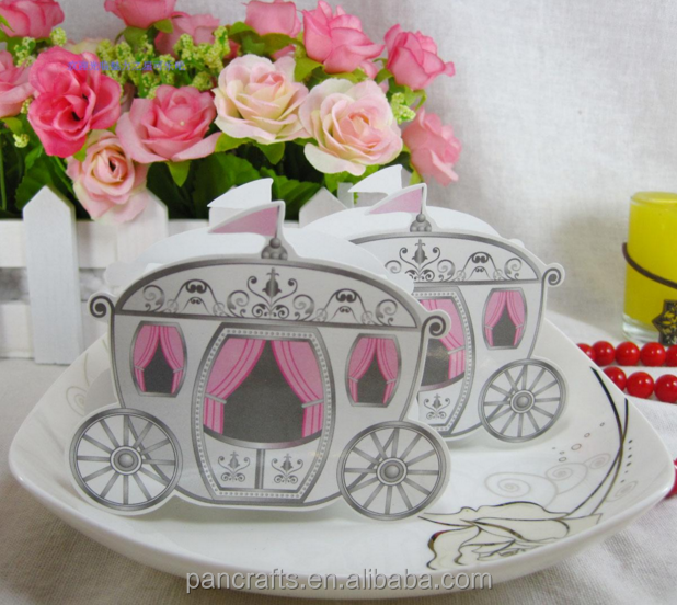 Little Carriage Modelling Custom Christmas Eve Sugar Paper Box Packaging