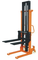 1ton,2ton,open bottom pallets only hand stacker, hand lift pallet truck