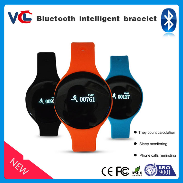 Led Smart Bracelet Bluetooth 4.0 Pedometer Tracking Calorie Health