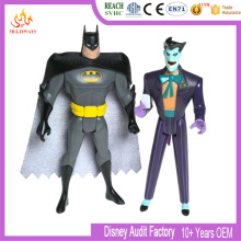 plastic action figures Batman and Joker