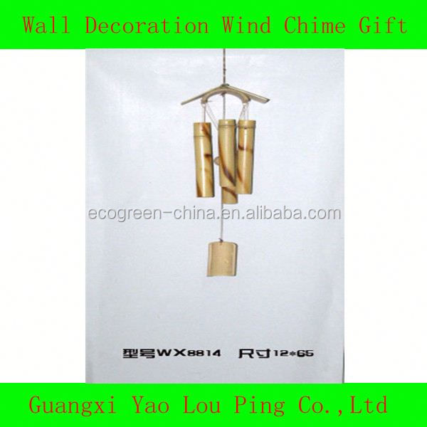 Indonesia Bamboo/Chinese Glass Wind Chimes Supplies