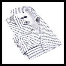 Made in China slim fit cotton stripe sando shirt on sale