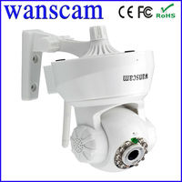 Mobile view ip camera p2p wifi support mini style ip camera pan tilt control security tool two way audio ip camera
