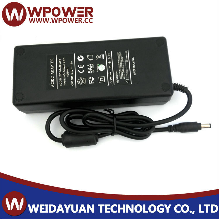 ac dc power supply AC/DC ADAPTER 120w 24v5a