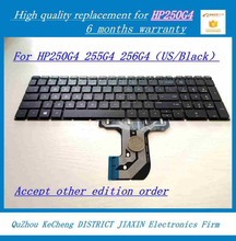 Brand new laptop keyboard for HP 250G4 HP 255G4 HP 256G4 US Black