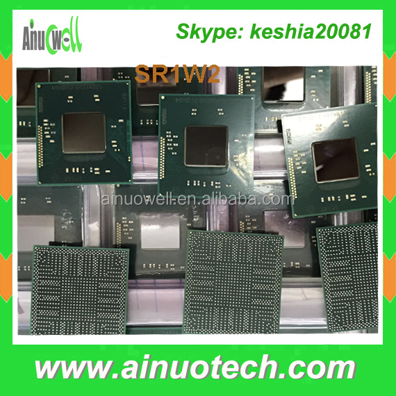Genuine New ic chip laptop ic SR1W2 SR170 SR17C SR17D SR1E3 SR1EA SR1ED SR1US SR27G SR29E BGA Laptop Chipset GPU IC