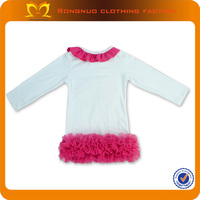New design for 2014 little girl clothes custom design baby clothes,baby clothes for girls