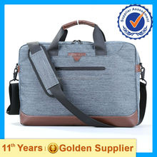 Men 15'' professional business messenger laptop bag