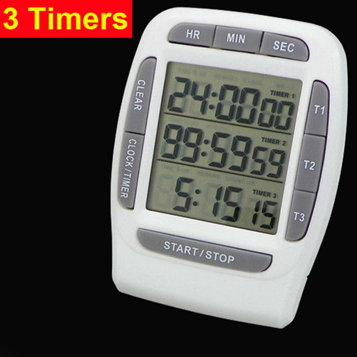 Fashion style magnetic home appliance kitchen countdown timer