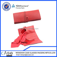 WZ 2015 New design Paint edge glasses bag with bandage Q61
