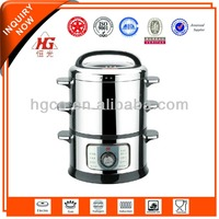 Luxury Stainless Steel electric energy saving steamer pot