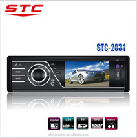 Hor selling foldable panel car dvd cd mp5 player STC-2031