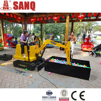 Selling Great Excavator Rides Used Theme Park/Entertainment Carnival Excavator Kiddie Rides