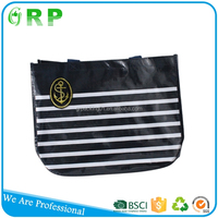 Wholesale hot sale customized reusable pp woven lady recycle foldable shopping bags