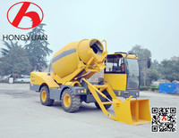 Building Machine 14m3/h Self Loading Concrete Mixer Price On Sale