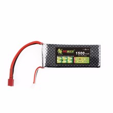 Facotory Wholesales Price Lipo Battery LION 7.4V 2S 1500MAH 30C rc car lipo battery pack