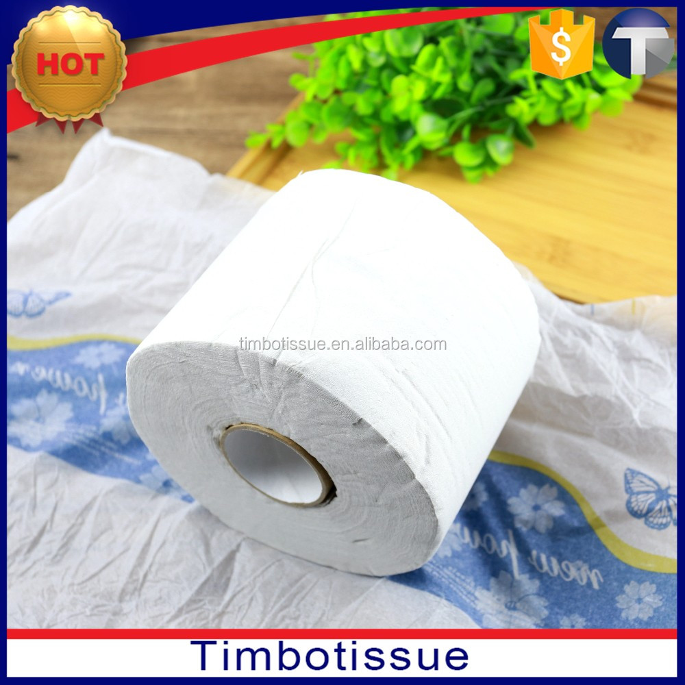 recycled 3 ply toilet roll wrapping paper