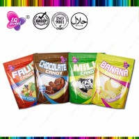 500g chocolate/ milk / fruit flavored chewy soft candy in bag