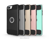 360 phone case for iPhone 7 Plus Ring Armor case 360 degree rotating case for iphone 7 plus