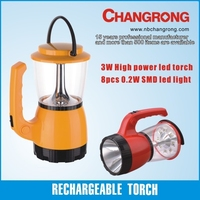 electric lantern and torch rechargeable