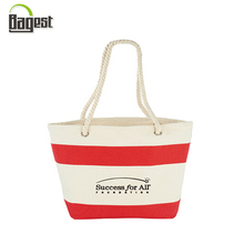 Reach Audit Promotional Beach Canvas Shopping Tote Bag