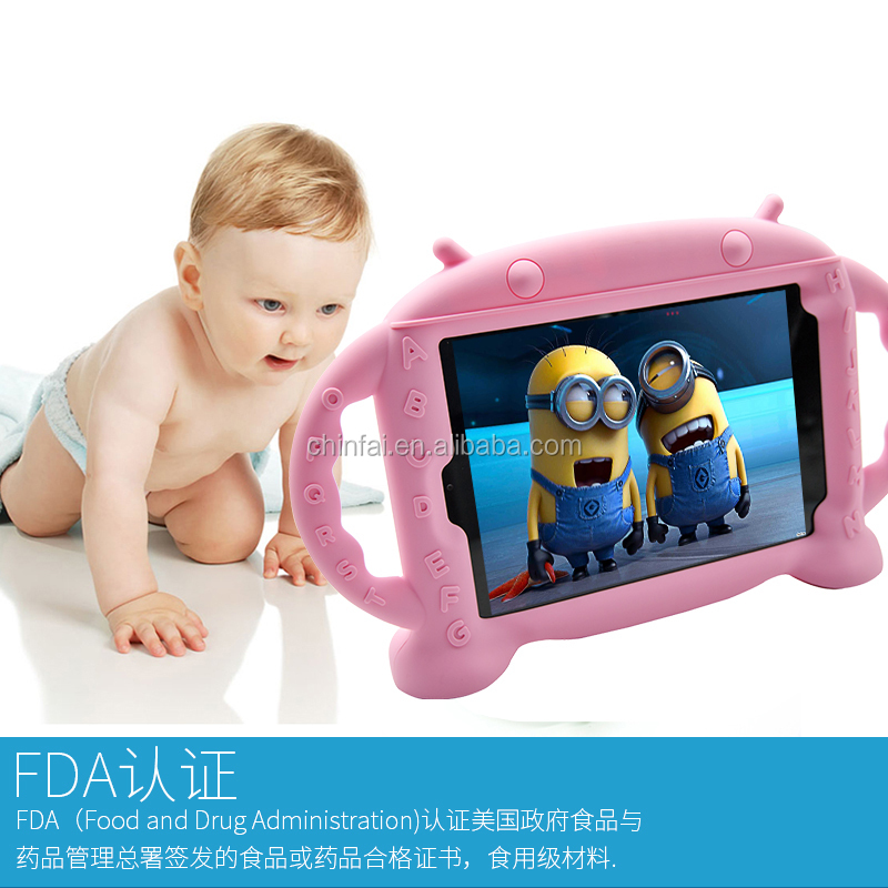 "Cute Case for XIAOMI MI Pad 3 Shockproof Free Standing Kid Case for 7.9"" mi Pad Tablet Full Protective mi Pad 3 Case"
